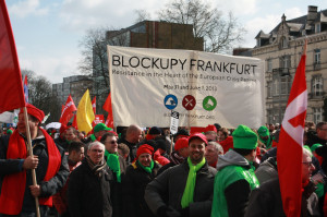 Blockupy in Brüssel